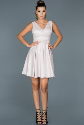 Short Pink Prom Gown ABK185