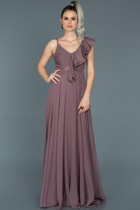 Long Lavender Engagement Dress ABU476