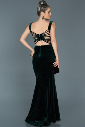 Long Emerald Green Mermaid Evening Dress ABU503