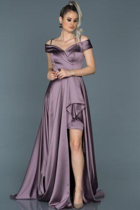 Tail Lavender Engagement Dress ABU502