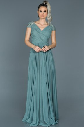 Long Firuze Evening Dress ABU025
