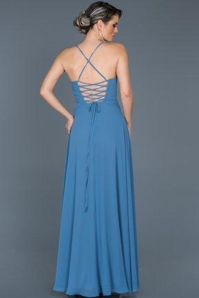 Long Indigo Evening Dress ABU070