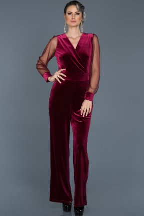 Plum Jumpsuit ABT017