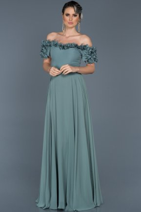 Long Firuze Evening Dress ABU074
