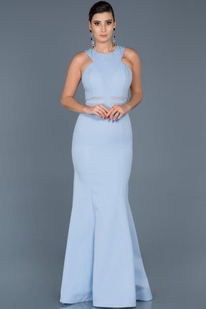 Long Blue Evening Dress ABU047