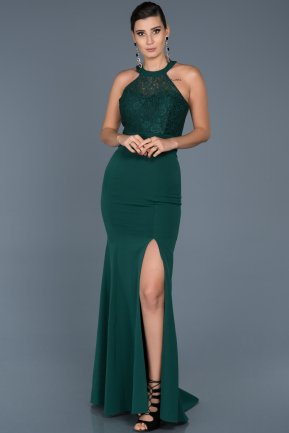 Long Emerald Green Mermaid Prom Dress ABU473
