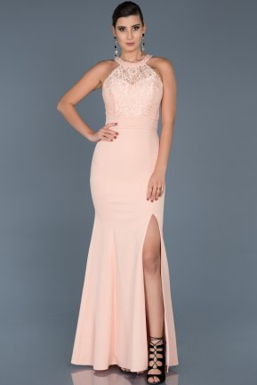 Long Powder Color Mermaid Prom Dress ABU473
