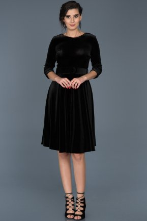 Black Invitation Dress ABK316