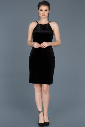 Short Black Invitation Dress ABK352