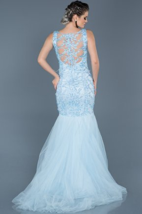 Tail Blue Mermaid Prom Dress ABU557