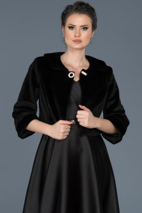 Black Evening Jacket AB5002