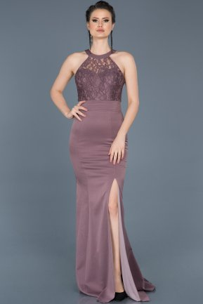 Long Lavender Mermaid Prom Dress ABU473