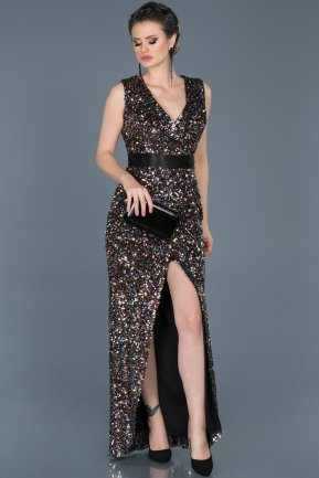 Long Rins Evening Dress ABU561