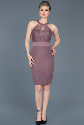 Short lavender Invitation Dress ABK278