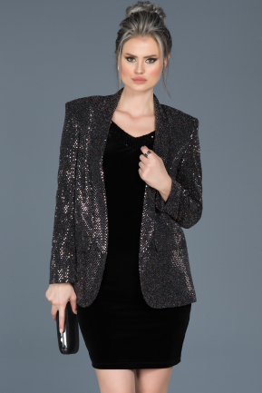 Black Evening Jacket AB90314