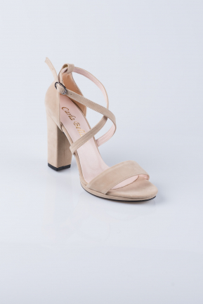 Mink Suede Evening Shoes ABS1012