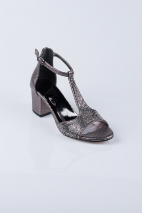 Smoked Color Evening Shoes MJT0744