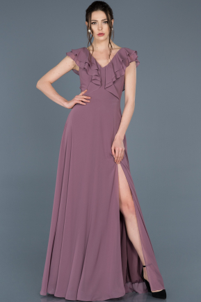 Long Lavender Invitation Dress ABU642