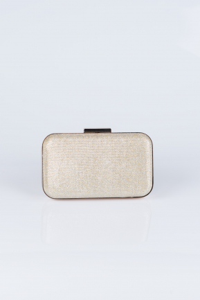 Gold Silvery Evening Bag V270