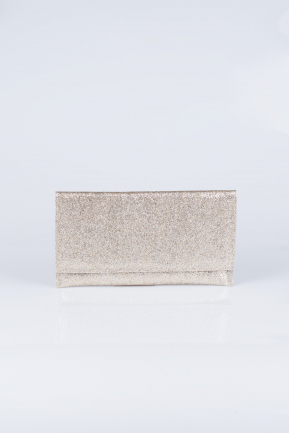 Gold Silvery Evening Bag V447