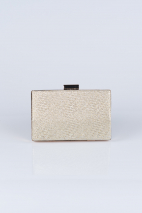 Gold Silvery Evening Bag V278