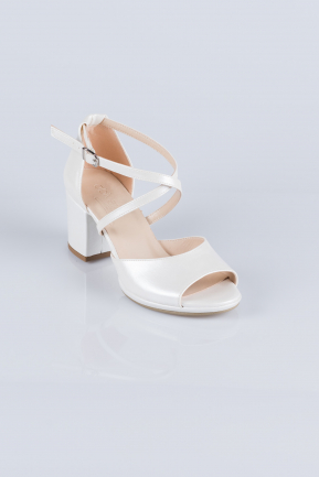 Pearl Skin Evening Shoes AB1023