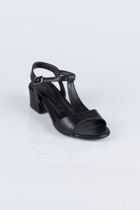 Black Skin Evening Shoes AB1020