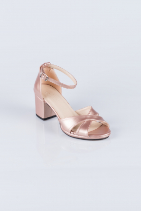 Rose Skin Evening Shoes AB1022
