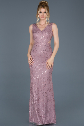 Long Powder Color Mermaid Prom Dress ABU763