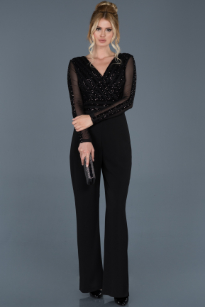 Black Prom Gown ABT035