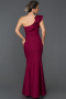 Long Plum Mermaid Prom Dress AB6068