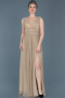 Long Mink Prom Gown ABU598