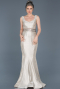 Long Mink Evening Dress ABU479