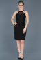 Short Black Invitation Dress ABK278