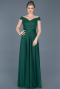 Long Emerald Green Evening Dress ABU020