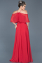 Long Red Evening Dress ABU002