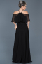 Long Black Evening Dress ABU002