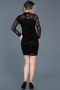 Short Black Invitation Dress ABK348
