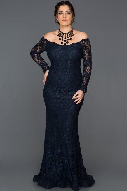 Navy Blue Plus Size Dresses